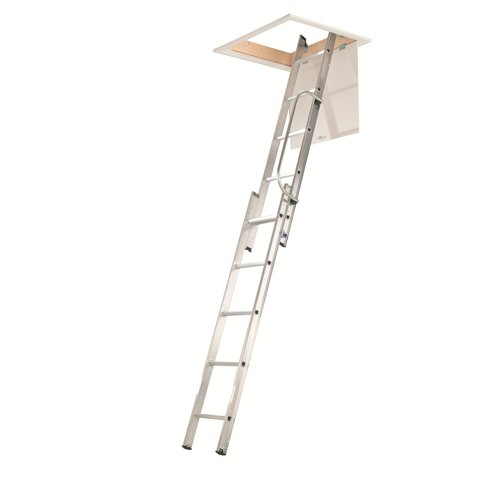 aluminium attic ladder 3 section dublin