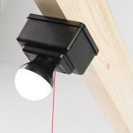 led battery attic light