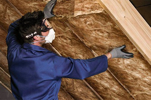 insulation between the rafters