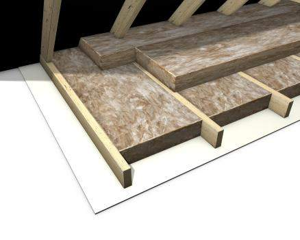 2 layers of attic insulation