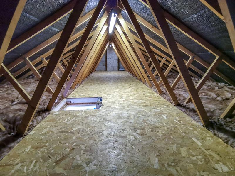 raised attic flooring